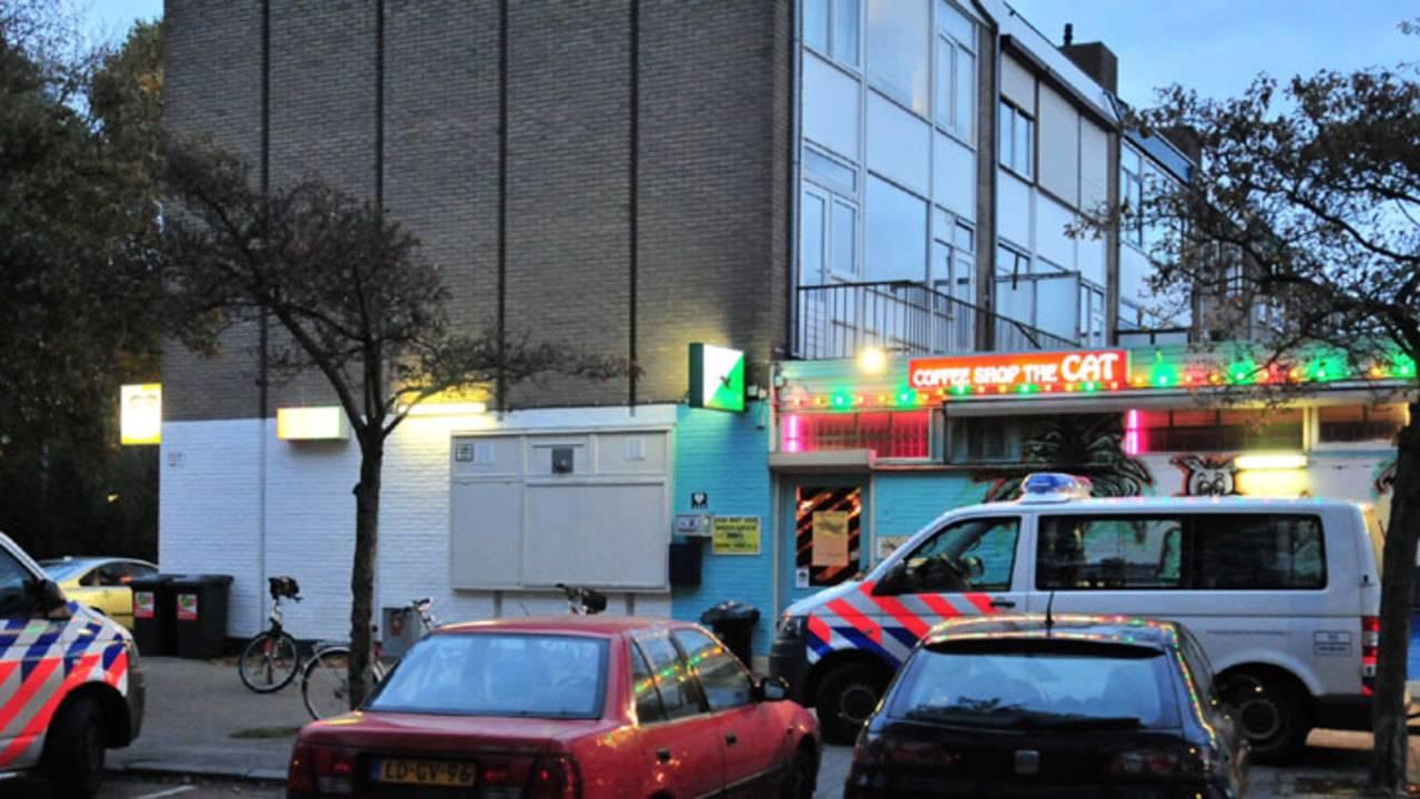 Opnieuw gewapende overval coffeeshop Breda, nu op The Cat - Omroep ...