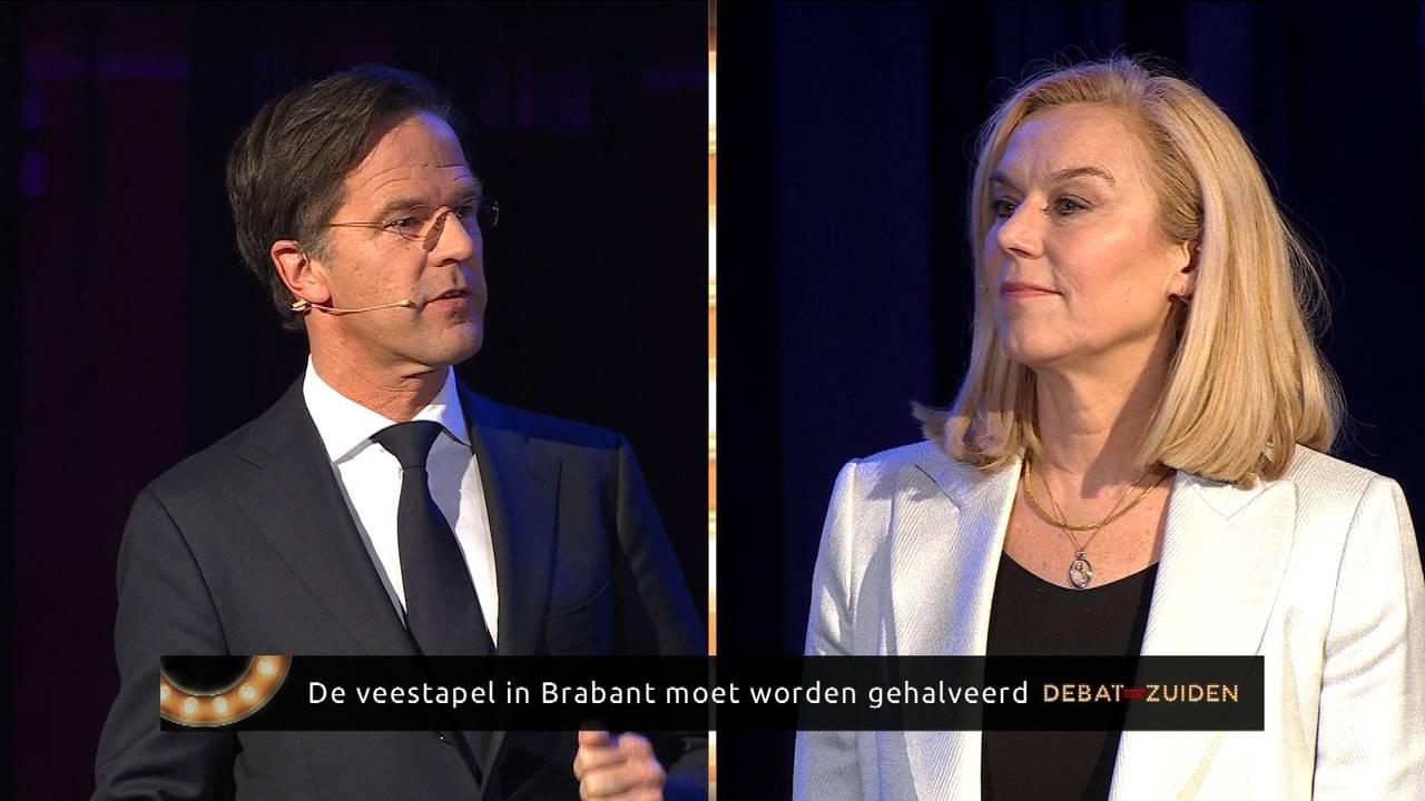 Kaag valt Rutte aan over samenwerking met Forum: 'Waarom wel in Brabant?' - Omroep Brabant