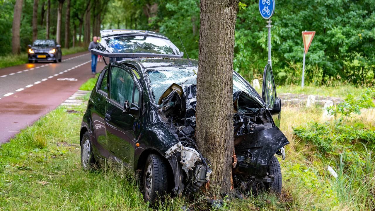 Vrouw raakt ernstig gewond bij ongeval in Kaatsheuvel.