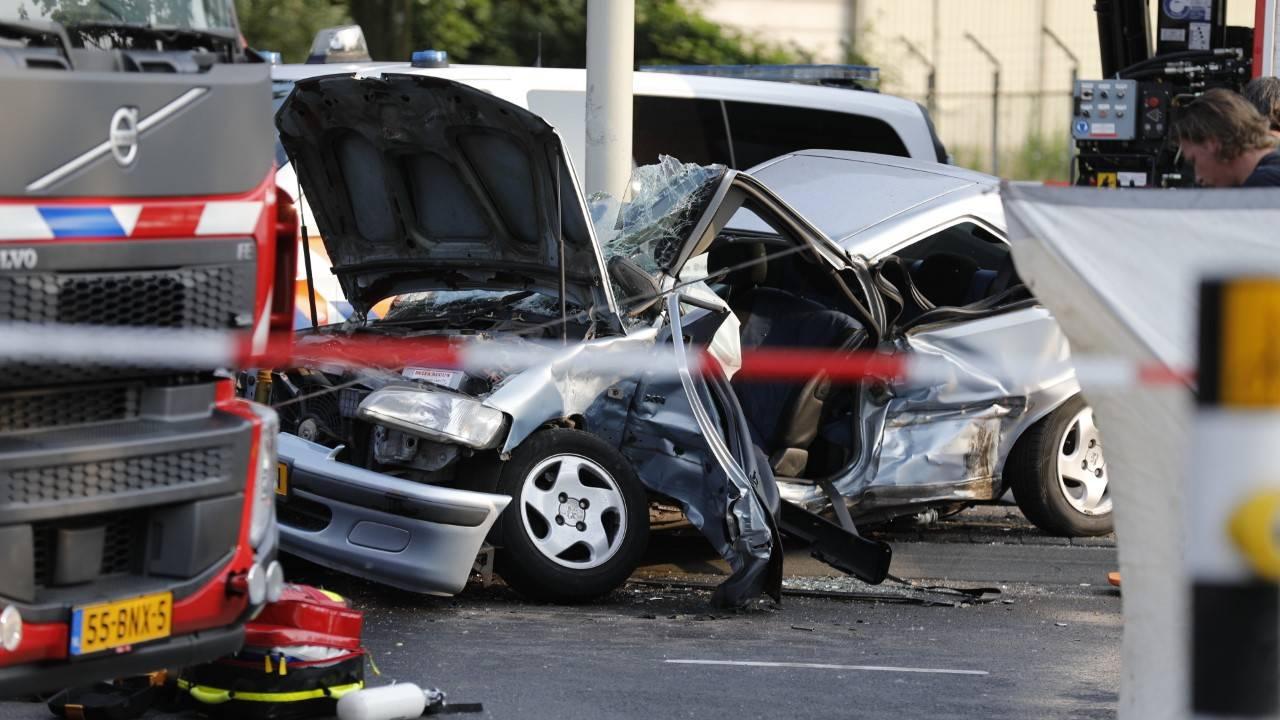 Man overleden bij ongeluk in Roosendaal.