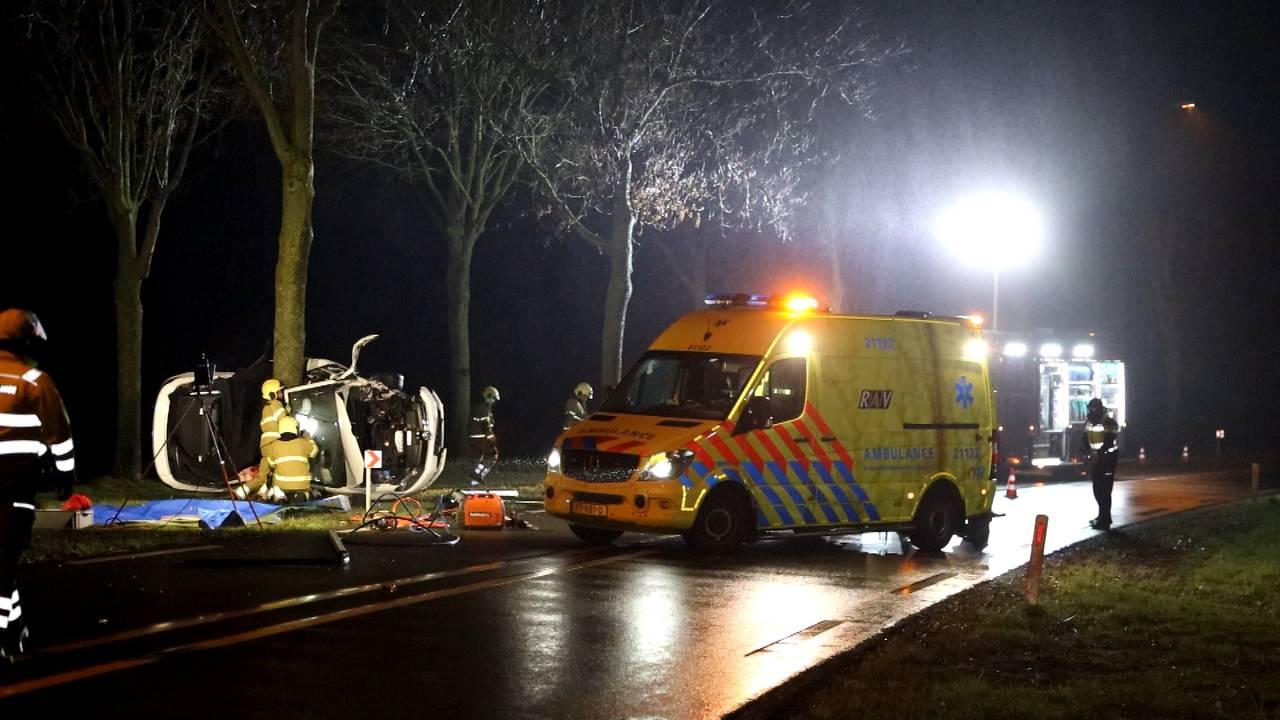 Man en vrouw komen om bij eenzijdig ongeluk in Schijndel.