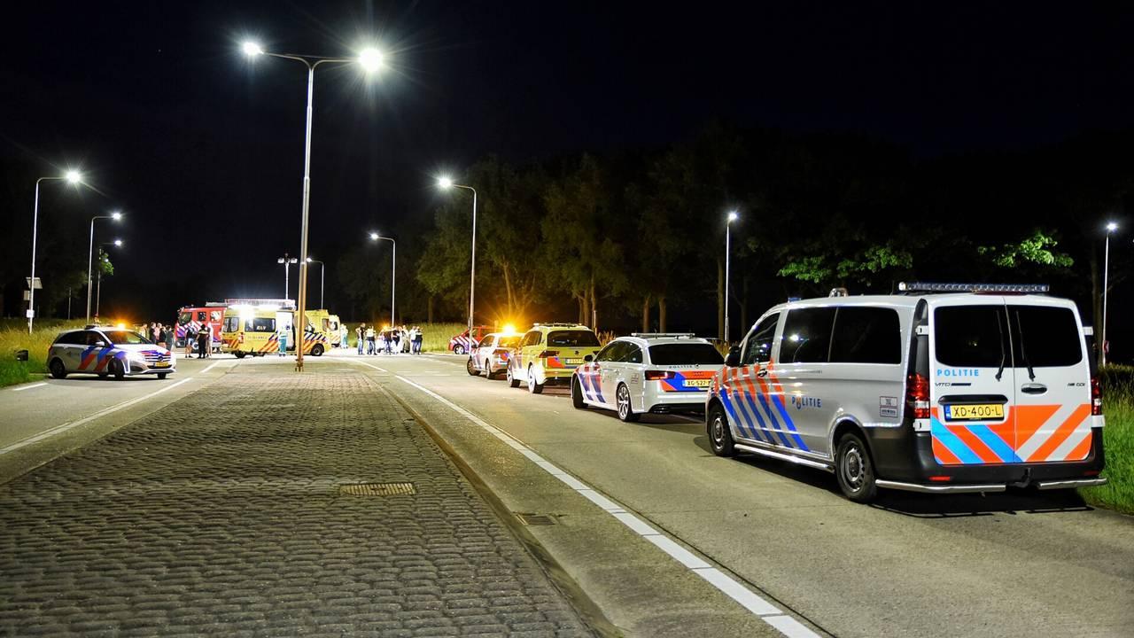 Man overlijdt bij botsing op de N260 bij Gilze, vrouw zwaargewond.