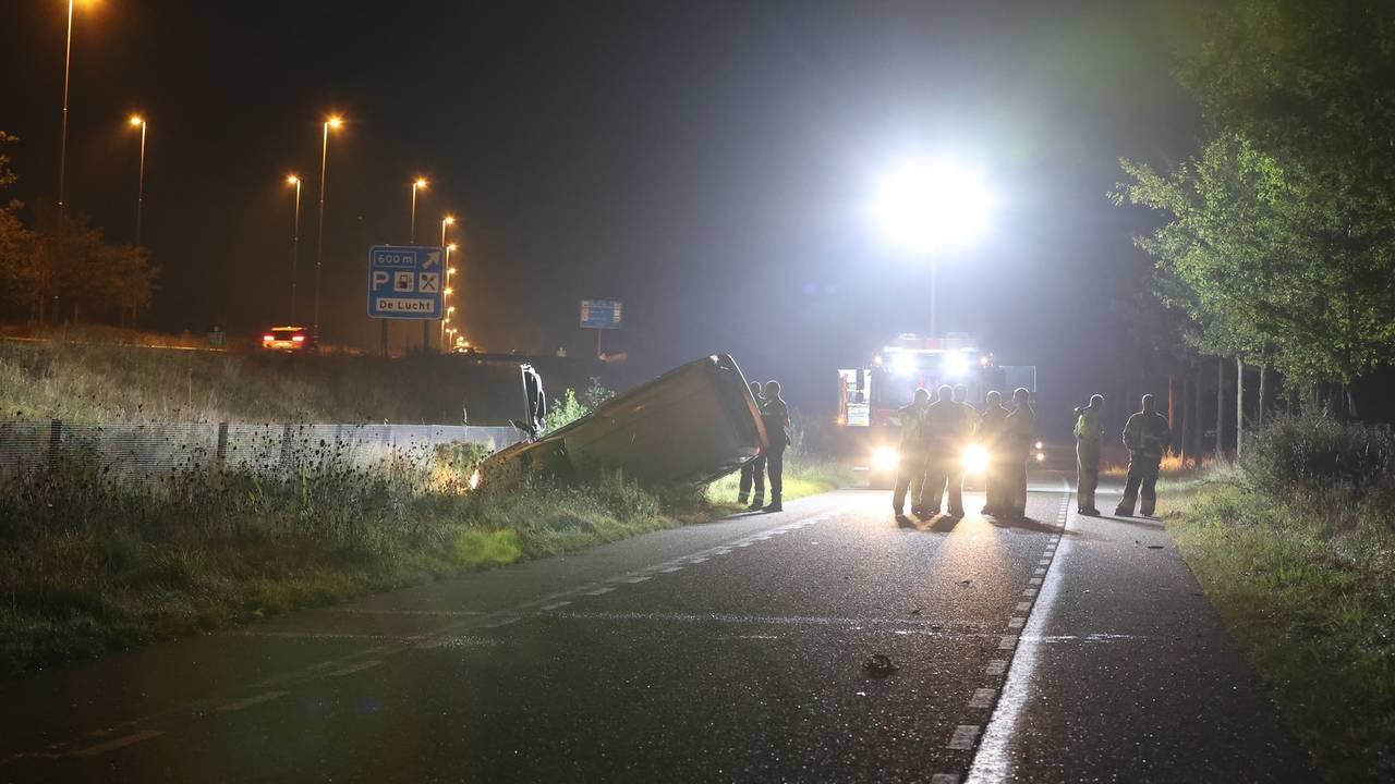 Zwaargewonde bij ongeluk in Vinkel, onduidelijk wat er is gebeurd.