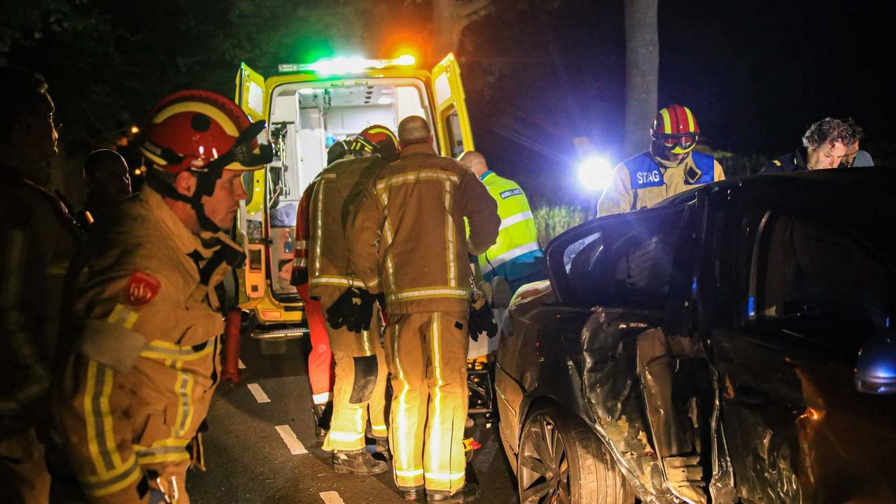 Vier gewonden bij ongeluk Deurne: dronken bestuurder opgepakt.