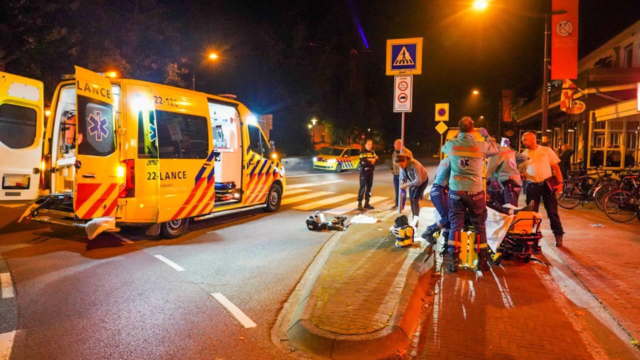 Man zwaargewond bij ongeluk op rotonde in Heeze.