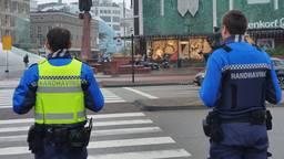 Boa's Paul en Tom controleren in het centrum van Eindhoven