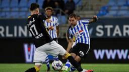 NAC-coach Edwin de Graaf na verlies tegen FC Eindhoven.