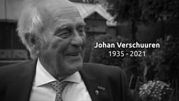 Oud-weerman Johan Verschuuren werd 85 jaar oud.