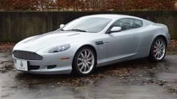 De gestolen en na twee maanden teruggekeerde Aston Martin (foto: Classic Park).