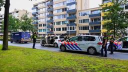 Geldwagen klemgereden door marechaussee in Eindhoven