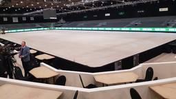 Een leeg Indoor Brabant in 2020 (foto: Henk van Esch).