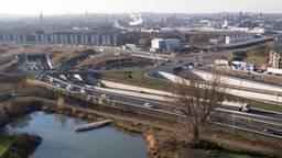 De A2-tunnel in Maastricht (foto: ANP).