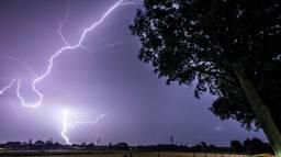 De bliksem (foto: Rob Engelaar)