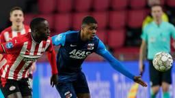 PSV verloor in eigen huis met 1-3 van AZ (foto: ANP).