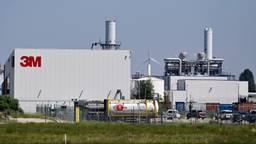 De 3M-fabriek in Zwijndrecht (foto: Belga).