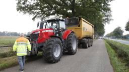 Fietser overleden na aanrijding door iemand op tractor in Sint-Anthonis