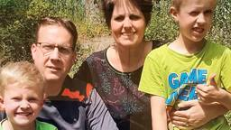 Dave, Mark, Evelyn en Daan uit Sint-Michielsgestel.