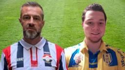 Theon Scholten (Willem II-fan) en Robin (RKC-fan)