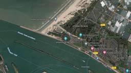 De werd in het water gevonden (foto: Google Maps).