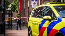 Er is een verdachte aangehouden door de politie (foto: Sem van Rijssel/ SQ Vision).