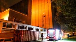 De brandweer bij het Parktheater (foto: Dave Hendriks/SQ Vision Mediaprodukties).