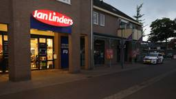 Begin januari werd de supermarkt ook al overvallen. (Foto: Marco van den Broek / SQ Vision Mediaprodukties)