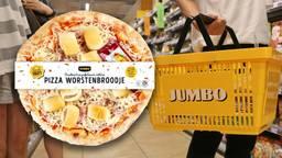 De Pizza Worstenbroodje is tijdelijk te koop.