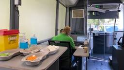 De GGD Prikbus in Roosendaal