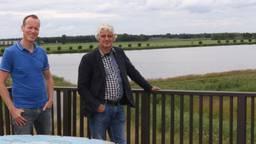 Bart Engels en Peter van Dijk van Waterschap Aa en Maas.