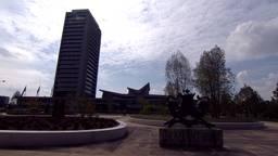 Het provinciehuis.