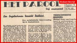 De krant van 27 april 1945 (foto: Jan de Wit).