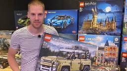 Fritz verhuurt LEGO steentjes (foto: Jan Peels)