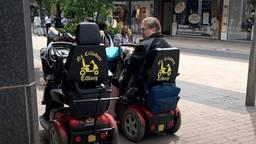 Wilma en haar man Sjak rijden onder meer in Tilburg rond. Foto: VKmag