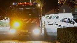 De brandweer werd opgeroepen na de vondst van de jerrycan (foto: Gabor Heeres/SQ Vision).