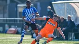 FC Eindhoven houdt FC Volendam op gelijkspel. Foto: OrangePictures.