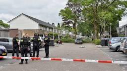 De man werd naar het ziekenhuis gebracht (foto: SQ Vision/ Toby de Kort).