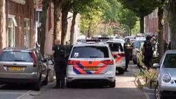 Straat afgezet in Den Bosch