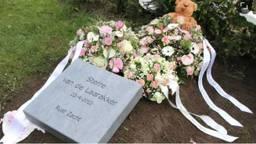 Het graf van Sterre van de Laarakker in Boxtel (Archieffoto).