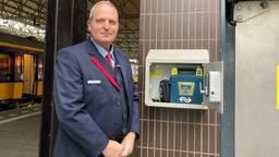 Rik Sengers redde een leven met een AED.