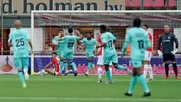 Vreugde na de 1-1, verder zou Willem II niet komen (foto: OrangePictures).