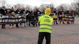 Kermisprotest in Breda (foto: Collin Beijk)