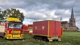 Circus Barani mag voorlopig op het evenemententerrein in Hoogerheide staan. (Foto: Erik Peeters)