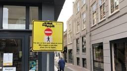 Eenrichtingsverkeer in de binnenstad van Den Bosch (foto: Willem-Jan van Rooij).