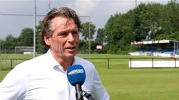 Voorzitter Maarten Bruinsma van VV Ravenstein