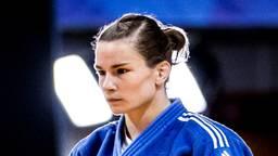 Judoka Sanne Verhagen uit Best