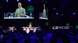Bijzonder partijcongres van het CDA in Den Bosch (foto: ANP).
