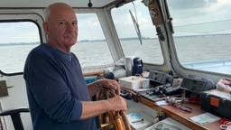 Schipper Jan Blokland redde vier mensen uit het Hollands Diep. (foto: Eva de Schipper)