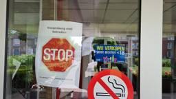 Bezoek is voorlopig niet welkom bij de Vossenberg (foto: Noël van Hooft).