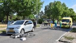 Een fietser raakte zwaargewond (foto: Toby de Kort/ SQ Vision).