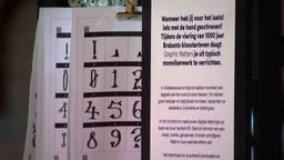 Project Scriptorium verzamelt 1000 handschriften voor uniek nieuw lettertype.